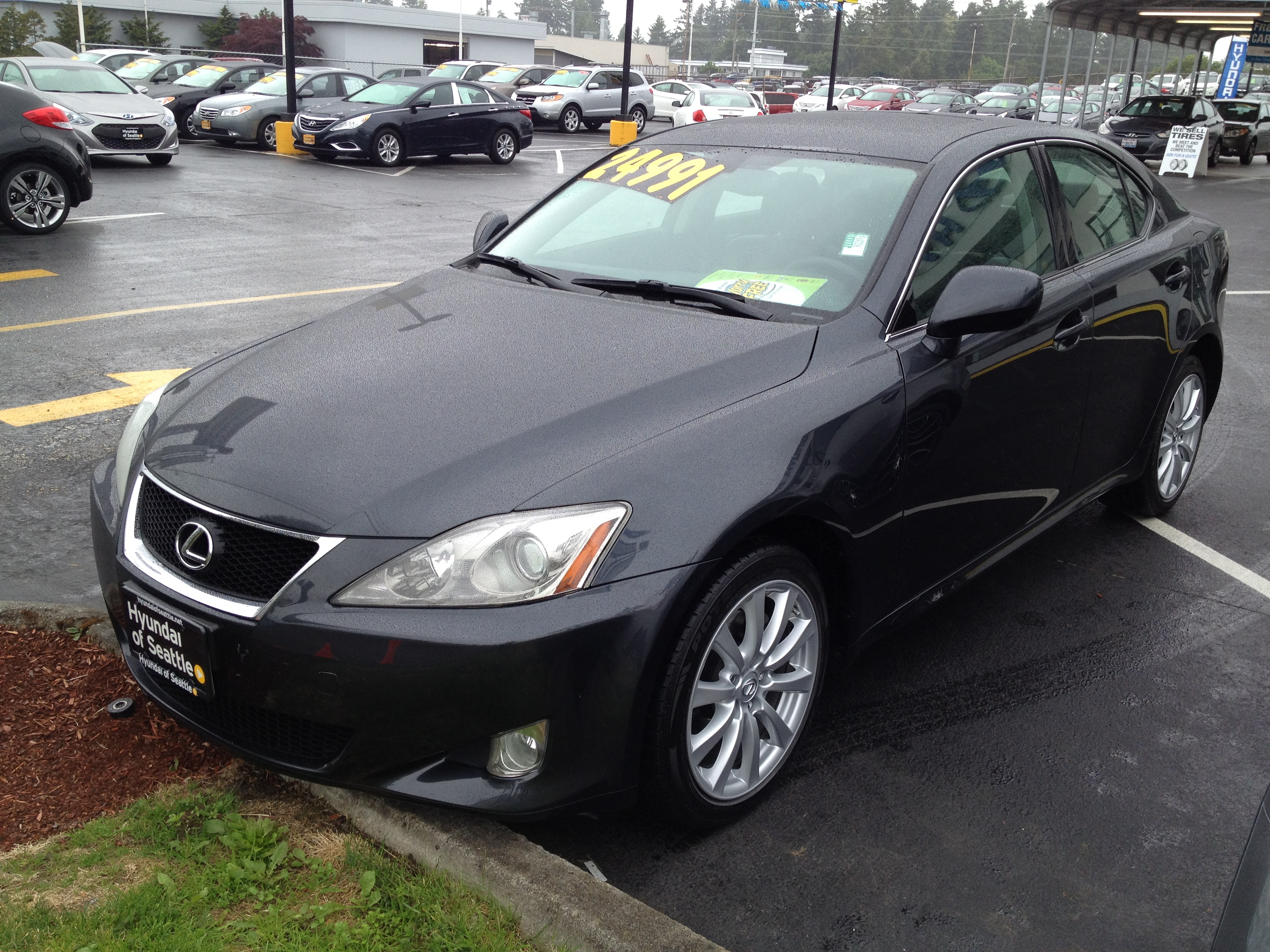 test drive 2007 lexus is 250 awd ariel 39 s car adventures. Black Bedroom Furniture Sets. Home Design Ideas