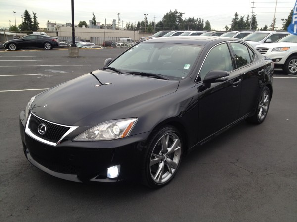 test drive 2010 lexus is 350 rwd ariel 39 s car adventures. Black Bedroom Furniture Sets. Home Design Ideas