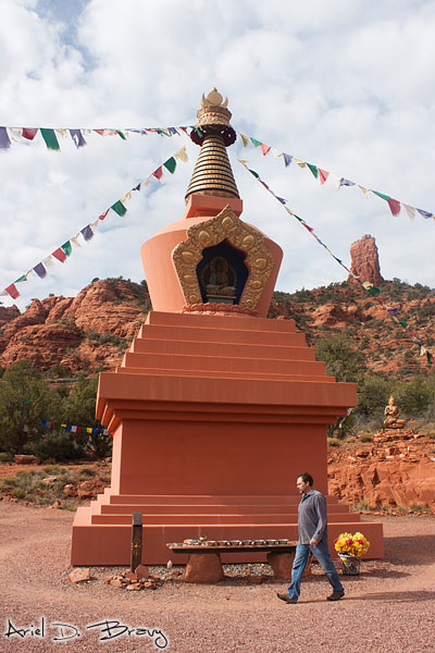 This guy walked countless laps around the stupa